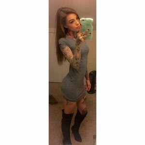 Dresses & Skirts - Grey tunic/dress